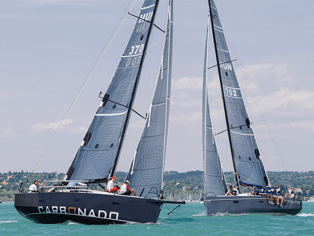 Nautic 370 racing am Balaton